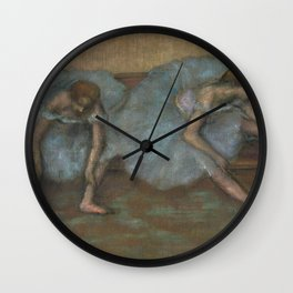 "Edgar Degas ""Two Ballet Dancers"" Wall Clock"