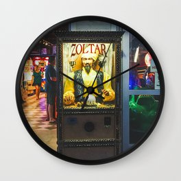 Mighty Zoltar Speaks Wall Clock