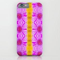 Purple Aster Flowers iPhone 6s Slim Case