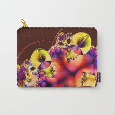 Hibiscus in Yellow Carry-All Pouch