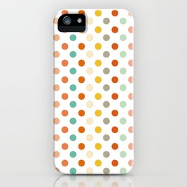 Polka Up iPhone Case