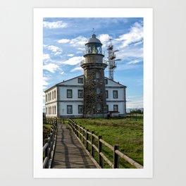 Cabo Penas Lighthouse Art Print