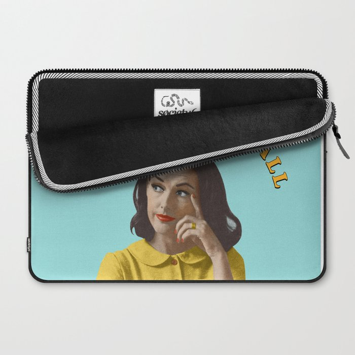 You Can't Do It All Laptop Sleeve