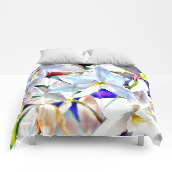 Cascading Cymbidium Comforters
