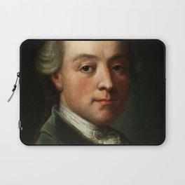 Wolfgang Amadeus Mozart (1756 -1791) portrait Laptop Sleeve