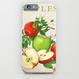 Apples and their Blossoms iPhone Case