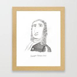 Christopher Pinchbeck Senior Framed Art Print
