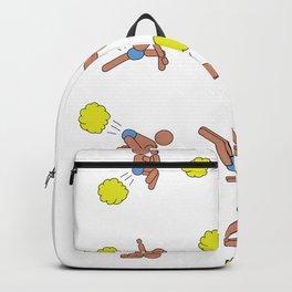 Farting Yogi 12 postures Backpack