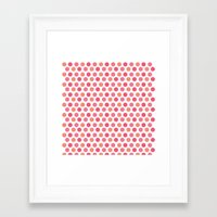 chic Framed Art Prints featuring chic by VanyNany
