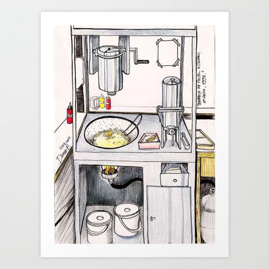 MEMORIES OF MY INNER CHILD 2# - Churros' Store Art Print