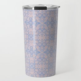 Light pink and blue tapestry 4635 Travel Mug