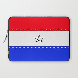 Red, White and Blue - 1 Laptop Sleeve