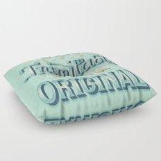 I am an original Floor Pillow
