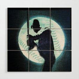 Man in the Moon Wood Wall Art
