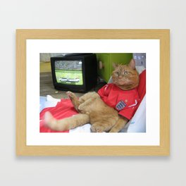 Bend it like... Framed Art Print