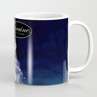 cocaine Mugs featuring Cinderella Cocaine Attitude by Trash Apparel