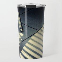 Shadow Slit Abstract Travel Mug