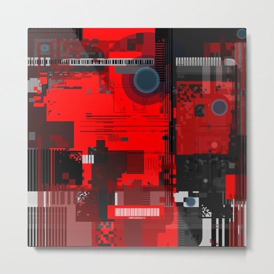 Kommunikations Metal Print