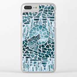 Moonlight Story (Platinum) Clear iPhone Case