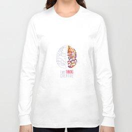 I am thinking Creative Long Sleeve T-shirt