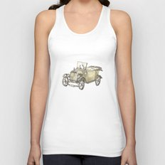 Model T Ford Unisex Tank Top