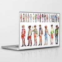 les miserables Laptop & iPad Skins featuring Les miserables by Puckboum