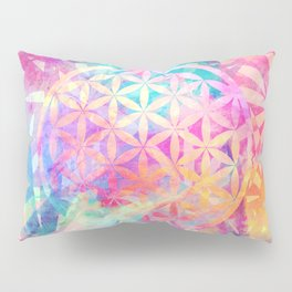 Within Nature (Flower Of Life) Pillow Sham