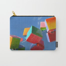 Color Cubes in the Sky Carry-All Pouch