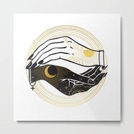La Lune Spell Metal Print