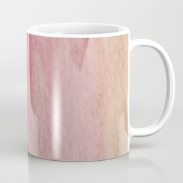 Blush: a pretty and gentle watercolor piece in pinks and browns Coffee Mug