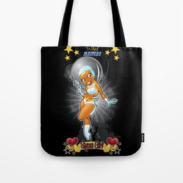 War Maiden - Space Girl Tote Bag