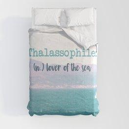 Thalassophile Comforters