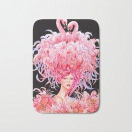 Flamingo Love_Pink Bath Mat