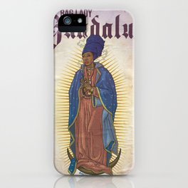 Bag Lady of Guadalupe iPhone Case