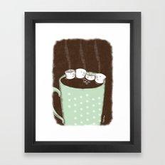 Chocolate Gas Framed Art Print