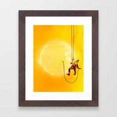 Forever Longing Framed Art Print