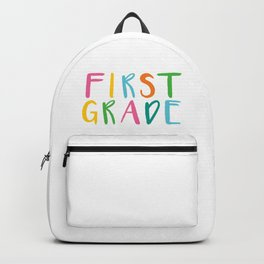 Back to School Hello First Grade Backpack