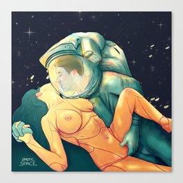 Erotic Space 01 Canvas Print