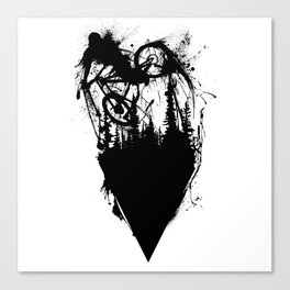 Whip Ink Canvas Print