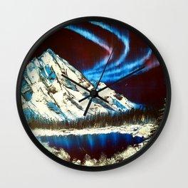 Northern Skies Wall Clock