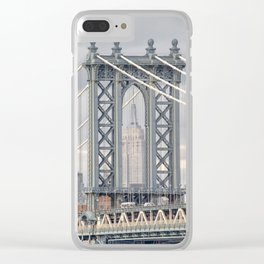 """""""Empire State 2"""" by Murray Bolesta! Clear iPhone Case"""