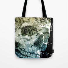 skull birds 02 Tote Bag