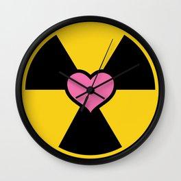 Holtzmann Nuclear Logo Wall Clock