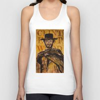 clint eastwood Tank Tops featuring Clint Eastwood by Olga Ko
