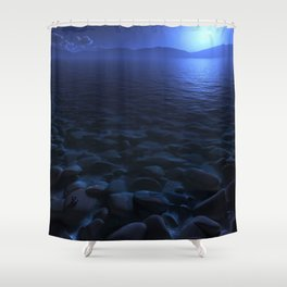 Moon Worship Shower Curtain