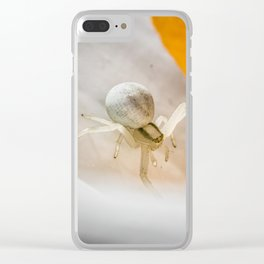 Looking Down Clear iPhone Case