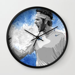 Juan Martin Del Potro Wall Clock