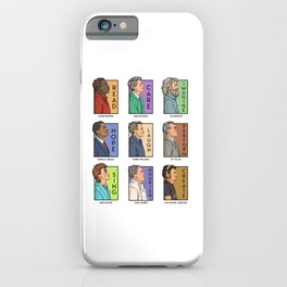 He Series - Real Men Collage iPhone Case