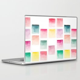 Summer Paint Chips Flat Lay Photograph Laptop & iPad Skin