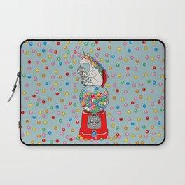 Unicorn Gumball Poop Laptop Sleeve